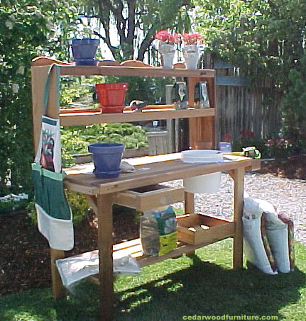 10 Fun Facts about Potting Benches! 10% OFF in November!